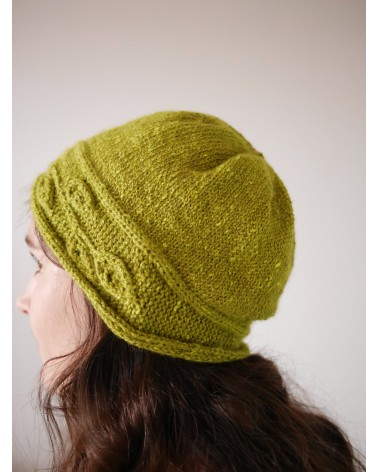 "Kit tricot ""Sprig Cloche"""