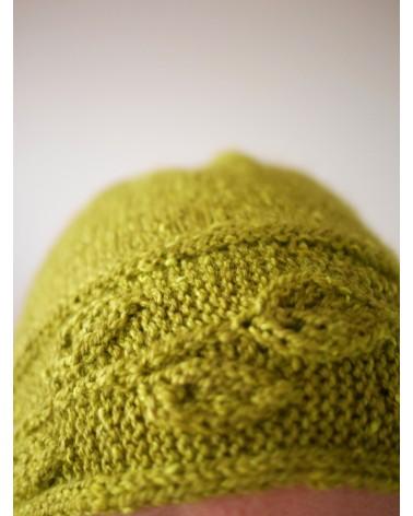 "Kit tricot ""Sprig Cloche"""