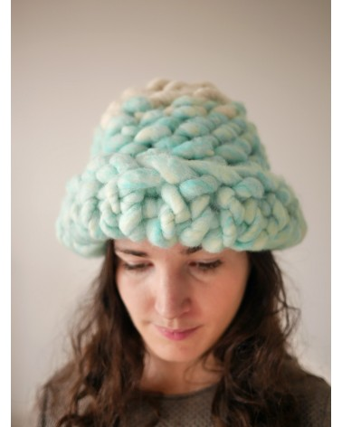 Kit tricot Helsinki Hat (bicolore)