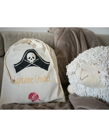 "Pochon humoristique ""Capitaine Crochet"""