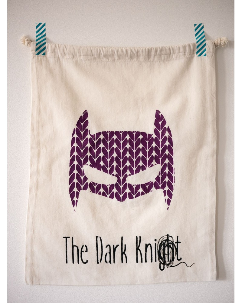 "Pochon humoristique ""The Dark Knit"""