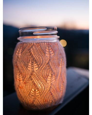 Kit tricot : Faerie's Firelight jar cover