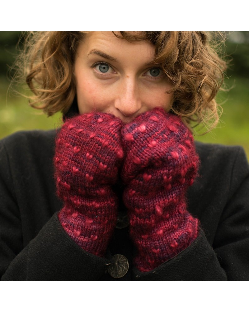 Kit moufles : Classic Thrum Mitts